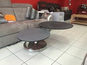 table basse ronde à Lyon